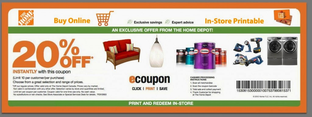 Home Depot Holiday Coupons Printable Coupons Online