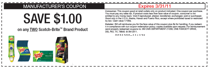 scotch-brite-kmart-pamper-coupons-codes
