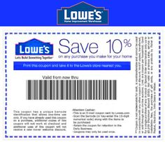 Lowes Coupon