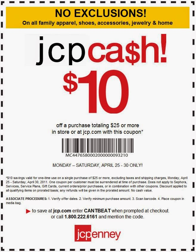 Jcpenney coupons november 2018