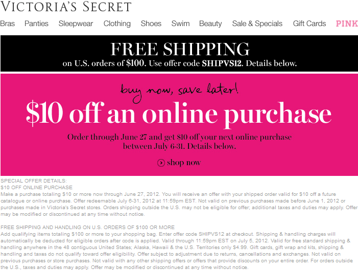 photograph relating to Victoria Secret 10 Off Bra Printable Coupon referred to as Victorias Top secret Coupon Codes JANUARY Printable Coupon codes On the internet