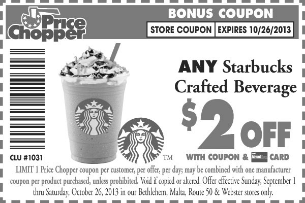Starbucks coupons printable 2019