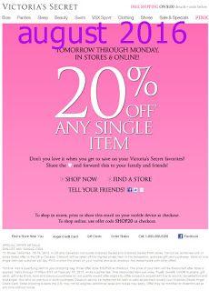 20-off-Victoria's Secret discount promo