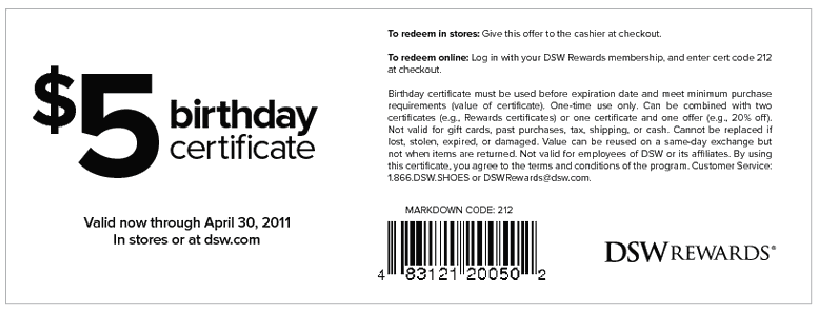 free-DSW-Coupons