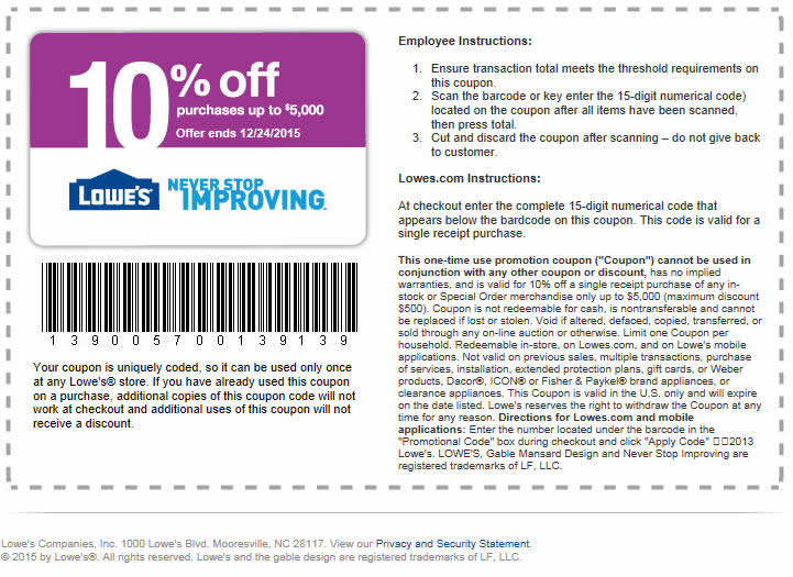 Discover savings on appliances, tools, outdoor power equipment and more with Lowe's Promotions. We invite you to shop by category, such as building supplies, hardware, bath, installation and windows and doors. With savings like these, there's no need to wait for a Lowe's coupon.