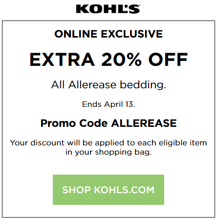 march-2017-Kohls coupon 20% off