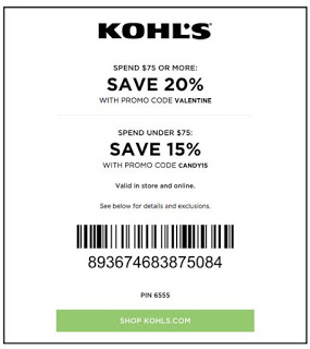 save-20-march-2017-Kohls coupon 20% off