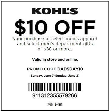 Kohls Coupons for shopping 2017