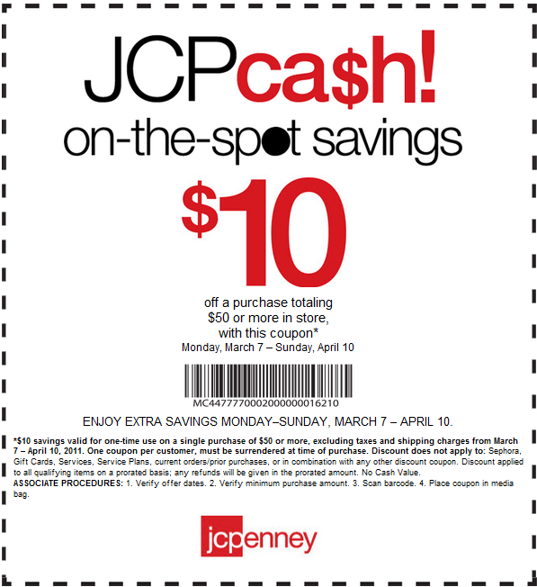 Jcpenney coupons labor day 2018
