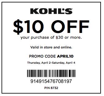 free-Kohls Coupons