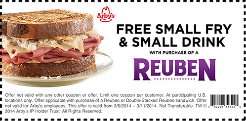 free-smallfries-arbys-coupons