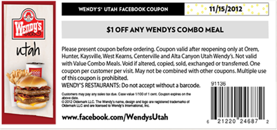 june-code-Free-Wendys-Fast Food-Coupon2017