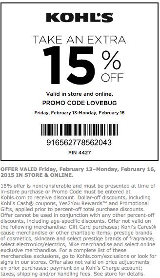 retail-Kohls Coupons