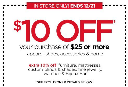 JCPenney Coupon – JCPenney Coupon 10 Off 2016