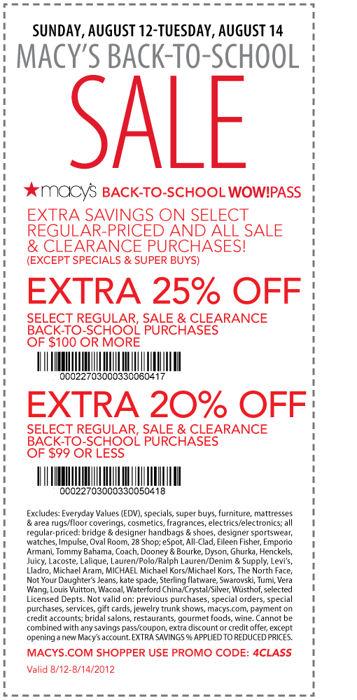 Macys Online Shipping Coupons | Printable Coupons Online