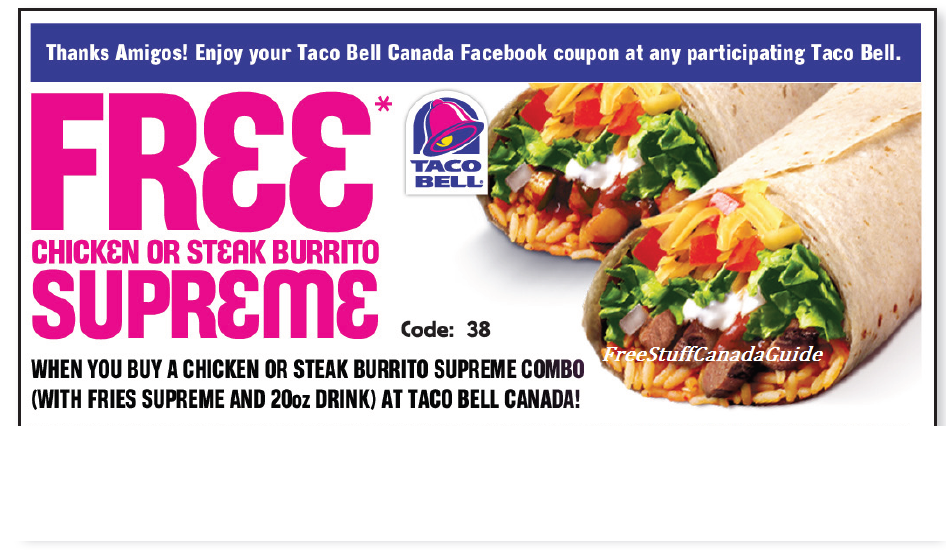 graphic relating to Taco Bell Printable Coupons identified as absolutely free-june-Taco-Bell-Printable Printable Coupon codes On line