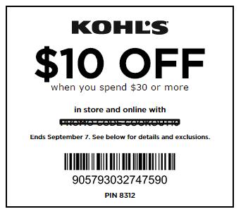 kohls-code