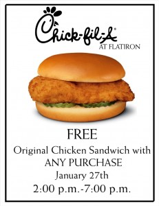 Chick fil a coupons november 2018