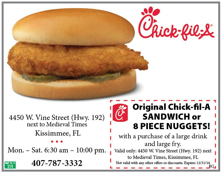 image about Chickfila Printable Coupon identified as Printable Chick fil a discount codes Printable Discount codes On-line