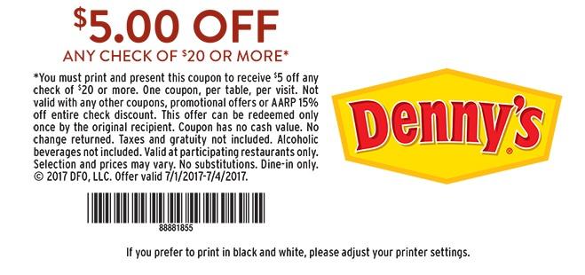 5 0ff – printable-new-dennys coupon rewards