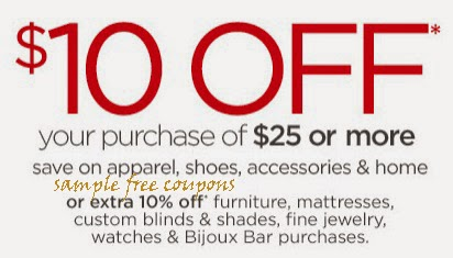 free JCPenney Coupons for october 2017