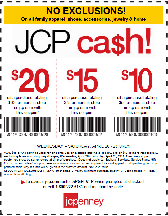 photograph relating to Sephora Printable Coupons named JCPenney Again In direction of Faculty Cost savings Printable Discount codes On-line