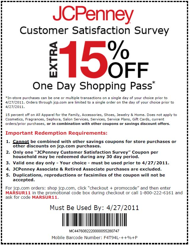 printable-free JCPenney Coupons for october 2017