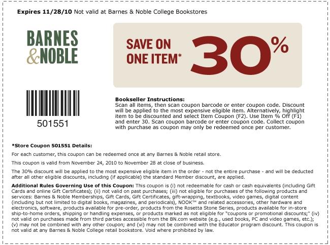 14 Barnes & Noble promo codes | 80% off
