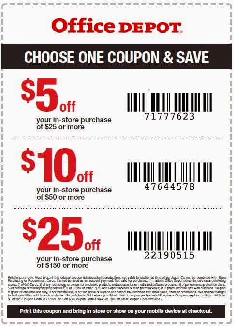 Office depot copy print coupon 2018