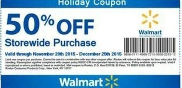 Walmart discount coupon code