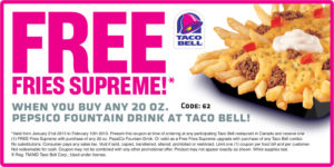 taco bell-2017 Restaurant-coupon