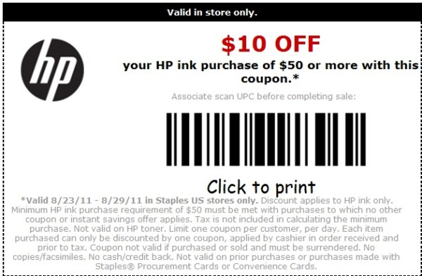Target hp printer ink coupons