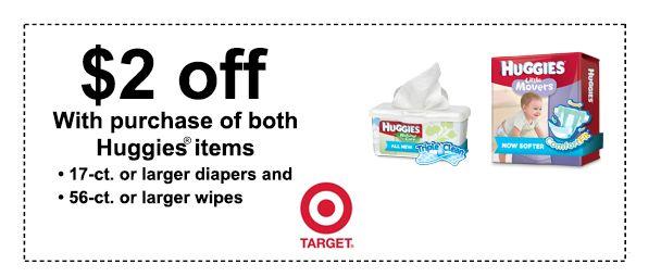 target coupon for huggies