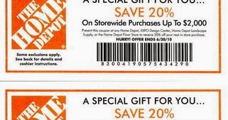home depot online coupon codes for appliances