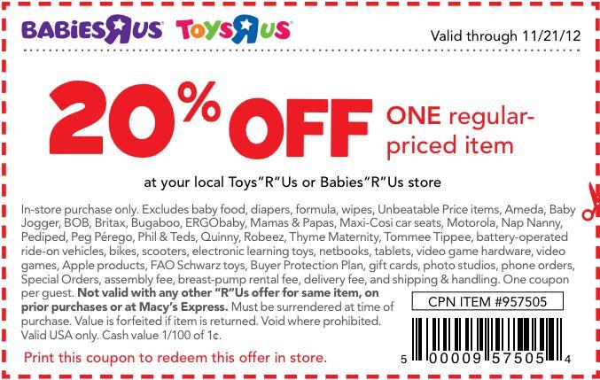 Toys R Us Details