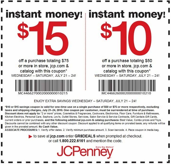 printable coupons from jcpenney