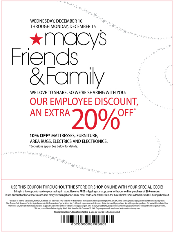 It's just a photo of Dynamite Macy 20 Off 50 Printable Coupon