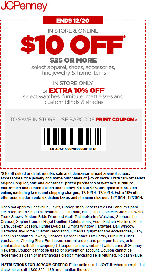 Jcpenney fragrance coupons