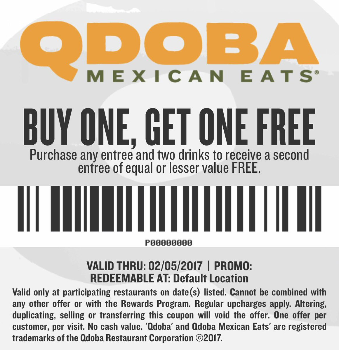photo regarding Qdoba Coupons Printable titled cost-free-qdoba-coupon codes-printable-2018 Printable Coupon codes On the net