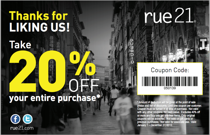 picture relating to Rue 21 Printable Coupons titled apple iphone-rue-21-coupon Printable Discount codes On line
