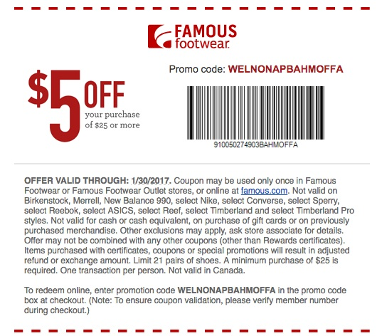 graphic regarding Famous Footwear Printable Coupon titled legitimate-well known-sneakers-coupon Printable Discount coupons On the web