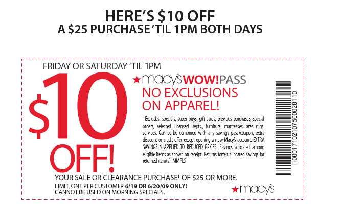 Macy S Printable Coupon Codes Printable Coupons Online