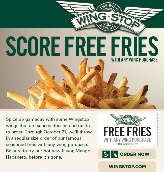 graphic about Wingstop Printable Menu identified as WingStop No cost Printable Coupon codes Printable Coupon codes On the internet