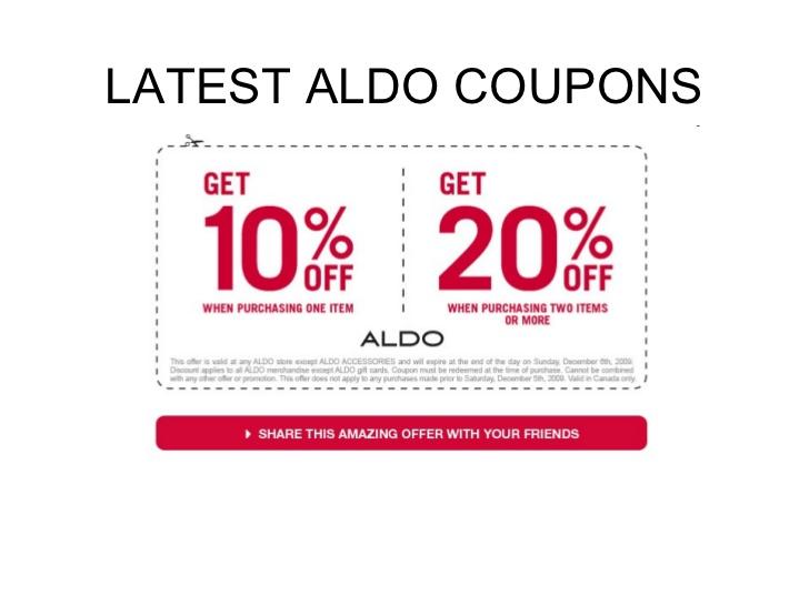 image regarding Aldo Printable Coupons called aldo-coupon codes-oct-2018-aldo-discount coupons-on-line Printable