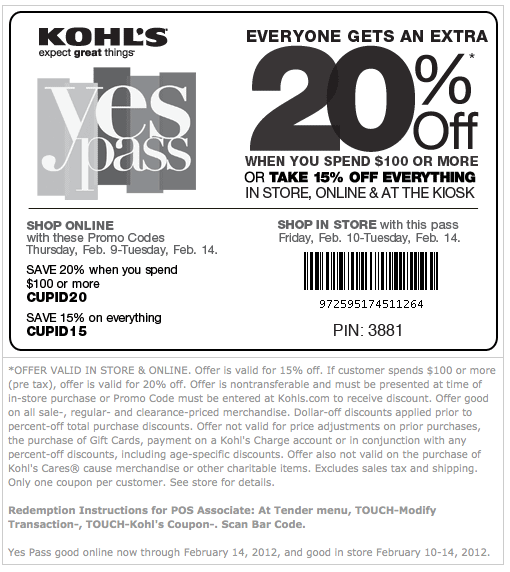 photograph relating to Kohls Coupons Printable named -Printable-kohls-coupon Printable Discount coupons On the net