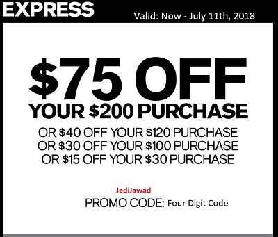 photograph relating to Express Coupons Printable 30 Off 75 identified as convey-coupon codes-75-off Printable Discount coupons On the net