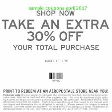 Aeropostale printable coupons 2019