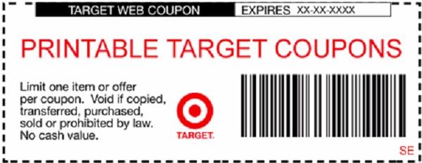 target coupons 2019 december