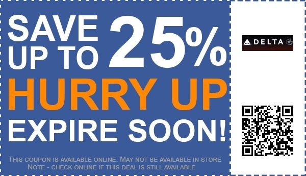 7931156eaac Delta-Airline-coupons-code-25-percent-off
