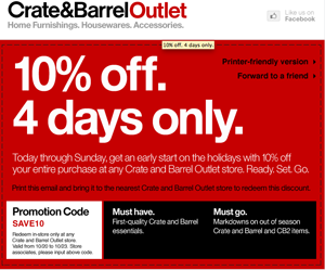crate and barrel coupon crate and barrel promo codes printable coupons 10676